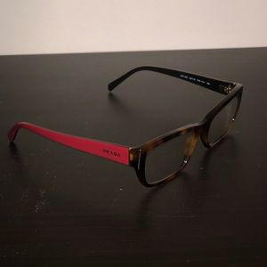 Prada women's eyeglass frames VPR180 NWOT